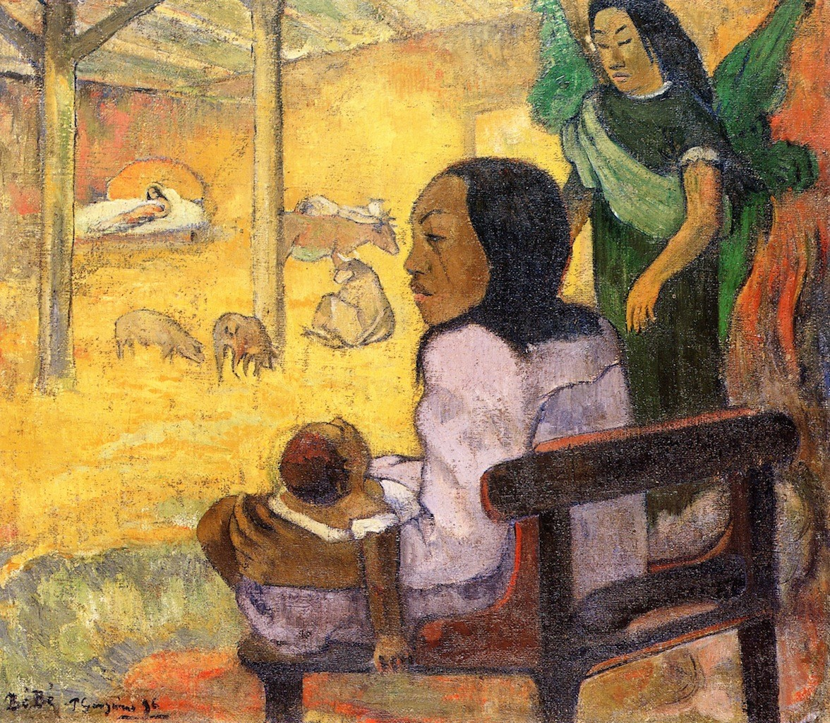 Baby the nativity 1896 the hermitage st petersburg russ